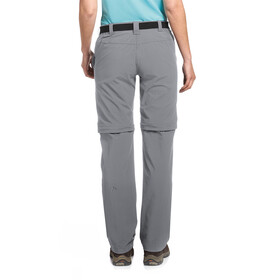 Maier Sports Nata 2 Pantalon convertible avec fermeture éclair Femme, sleet